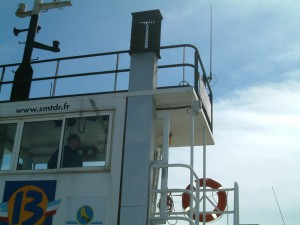 Bac de Buccarin -antenne SFE