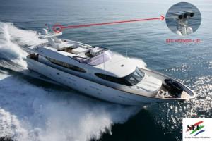 CAMERA YPZ3000 sur bateau V2-200mm