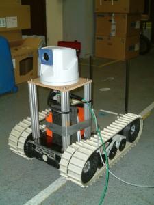 caméra robot