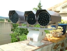 caméra vision nuit -vue face -100mm
